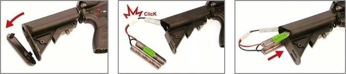 fusil m4 ca4a1 ec2 noir 3