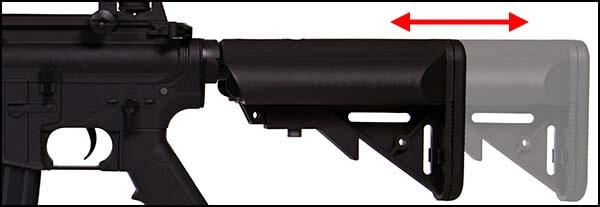 fusil st m4a1 g2 m4 a1 aeg noir crosse ajustable airsoft 1 optimized