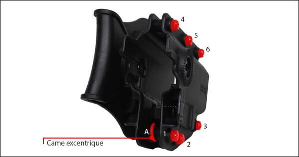 Holster Rigide CQC ADAPT X Universel Ambidextre Swiss Arms noir 603659 reglage airsoft 1 optimized