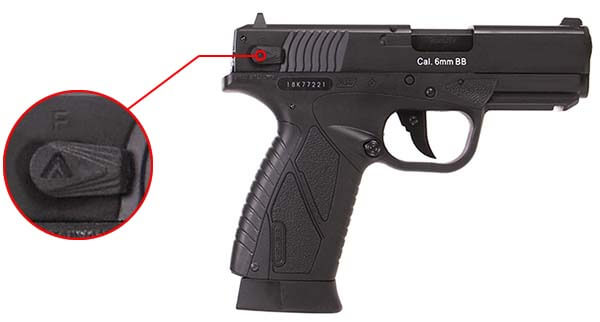 pistolet bersa bp99 cc co2 gbb blowback asg noir 17308 securite airsoft 1 optimized