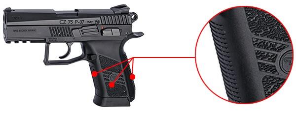 pistolet ceska cz 75 p 07 duty co2 blowback culasse metal 16720 confort airsoft 1 optimized