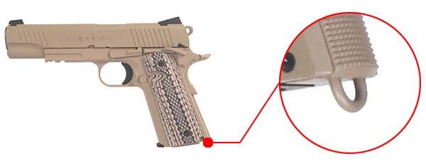 pistolet colt 1911 m45 a1 rail gun co2 tan full metal blowback 180521 dragonne airsoft 1 optimized