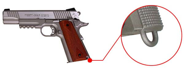 pistolet colt 1911 rail gun stainless silver co2 full metal blowback 180530 dragonne airsoft 1 optimized