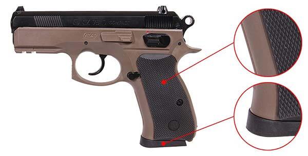 Airso Compact Dual 18603 FDE Spring 75D CZ CZ75D Tone Pistolet zAWnFRPqHw