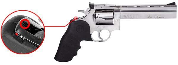 pistolet dan wesson 715 revolver 357 magnum co2 6 pouces 1 joule low power asg 18194 securite airsoft 1 optimized