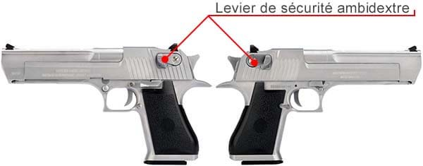 pistolet desert eagle 50ae gbb gaz cybergun we silver 090510 levier de securite ambidextre airsoft 1 optimized