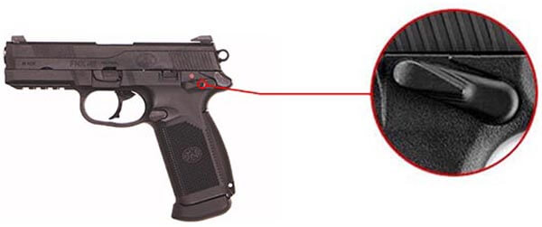 Pistolet FN Herstal FNX45 Civilian Noir Gaz GBB Blowback 200514 6 Optimized