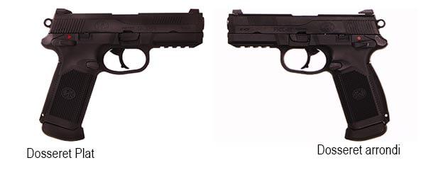 Pistolet FN Herstal FNX45 Civilian Noir Gaz GBB Blowback 200514 1 Optimized