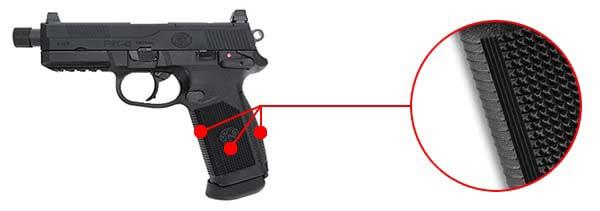 pistolet fn herstal fnx-45 tactical noir gaz gbb blowback 200508 confort airsoft 1 optimized