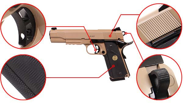 pistolet kjw sts 7 1911 meu gaz gbb metal spartan desert 680504 confort airsoft 1 optimized