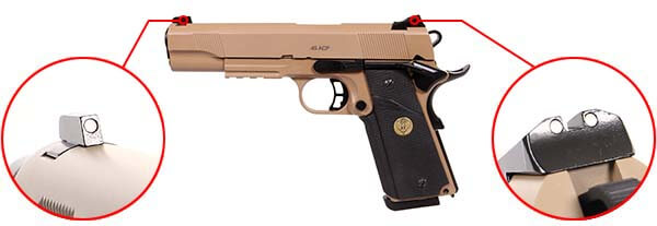 pistolet kjw sts 7 1911 meu gaz gbb metal spartan desert 680504 organes de visee airsoft 1 optimized