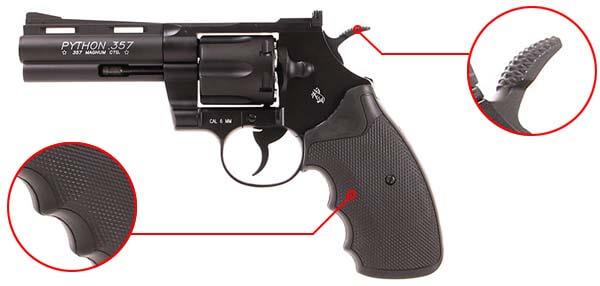 pistolet revolver colt pyhton magnum 357 4 pouces co2 r357 magnum 180310 confort airsoft 1 optimized
