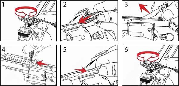 pistolet revolver dan wesson 2 5 noir co2 full metal 17505 installation rail airsoft 1 optimized