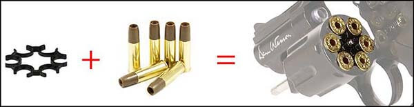 pistolet revolver dan wesson 2 5 pouces gold or full metal 17373 moon clip airsoft 1 optimized