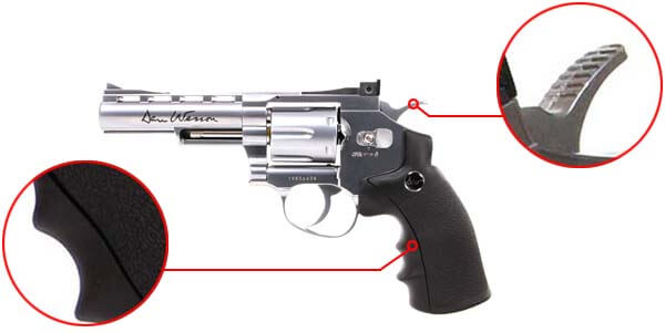 pistolet revolver dan wesson 4 silver co2 full metal 16181 confort airsoft 1 optimized