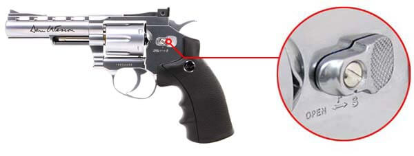 pistolet revolver dan wesson 4 silver co2 full metal 16181 securite airsoft 1 optimized