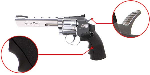 pistolet revolver dan wesson 6 silver co2 full metal 17479 confort airsoft 1 optimized