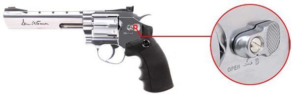 pistolet revolver dan wesson 6 silver co2 full metal 17479 securite airsoft 1 optimized