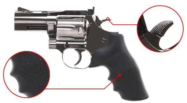 pistolet revolver dan wesson 715 357 magnum 2 5 pouces silver co2 18613 confort airsoft 1 optimized