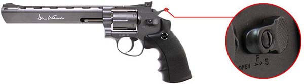 pistolet revolver dan wesson 8 noir co2 full metal 17477 securite airsoft 1 optimized