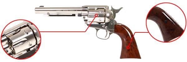pistolet revolver legends western cowboy 45 co2 5 pouces umarex 26329 finitions airsoft 1 optimized