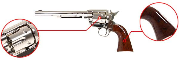 pistolet revolver legends western cowboy 45 co2 7 pouces umarex 26346 finitions airsoft 1 optimized