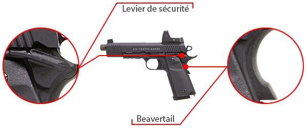 pistolet secutor 1911 rudis vi magna co2 tan sar0028 double securite airsoft 1 optimized