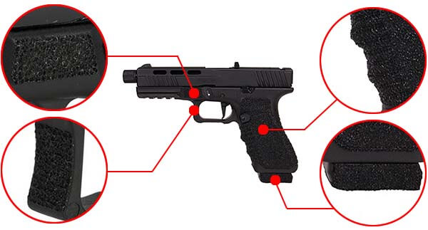 pistolet secutor g17 s17 gladius navy grey gbb blowback co2 gaz sag0003 confort airsoft 1 optimized