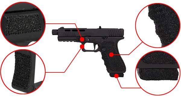 pistolet secutor g17 s17 gladius noir gbb blowback co2 gaz sag0002 confort airsoft 1 optimized