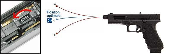 pistolet secutor gladius 17 acta non verba co2 gbb blowback noir hop up 1 optimized