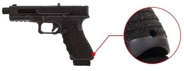 pistolet secutor gladius 17 acta non verba co2 gbb blowback stone anneau de dragonne 1 optimized