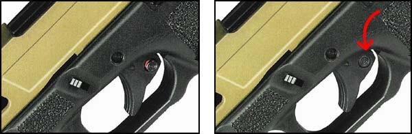 pistolet secutor gladius 17 acta non verba co2 gbb blowback stone mode de tir 1 optimized