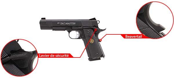 pistolet sti tac master 1911 meu kjw kp07 gaz metal blowback 17181 securite airsoft 1 optimized