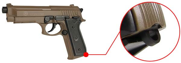 pistolet taurus pt92 pt 92 af spring hpa culasse metal tan dersert version 210117 dragonne airsoft 1 optimized