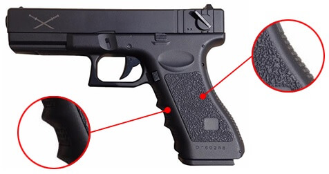 pistolet yakuza g18 lipo aep saigo defense noir sg00042 ergonomie airsoft 1