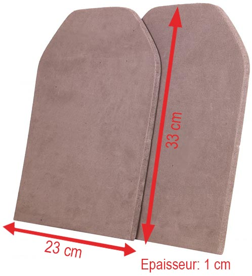 plaque dummy x2 par lancer tactical mousse eva sapi 2