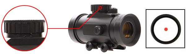 point rouge red dot tube universel picatinny abs swiss arms 263860 luminosite airsoft 1 optimized