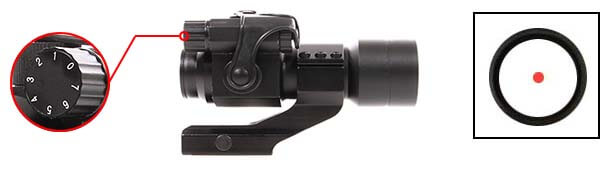 red dot point rouge type aimpoint comp m2 m68 cco cantilever swiss arms luminosite airsoft 1 optimized