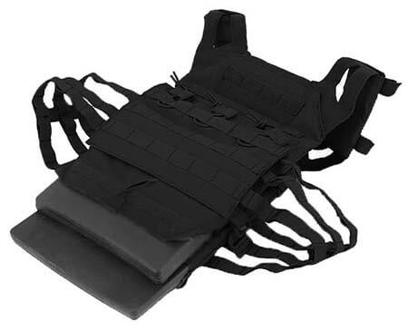veste gilet tactique jpc jumpable plate carrier delta tactics noire plaques dummy sapi airsoft 1 optimized