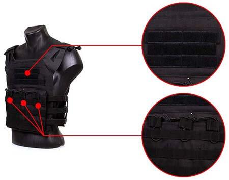 veste gilet tactique jpc jumpable plate carrier delta tactics noire poches airsoft 1 optimized