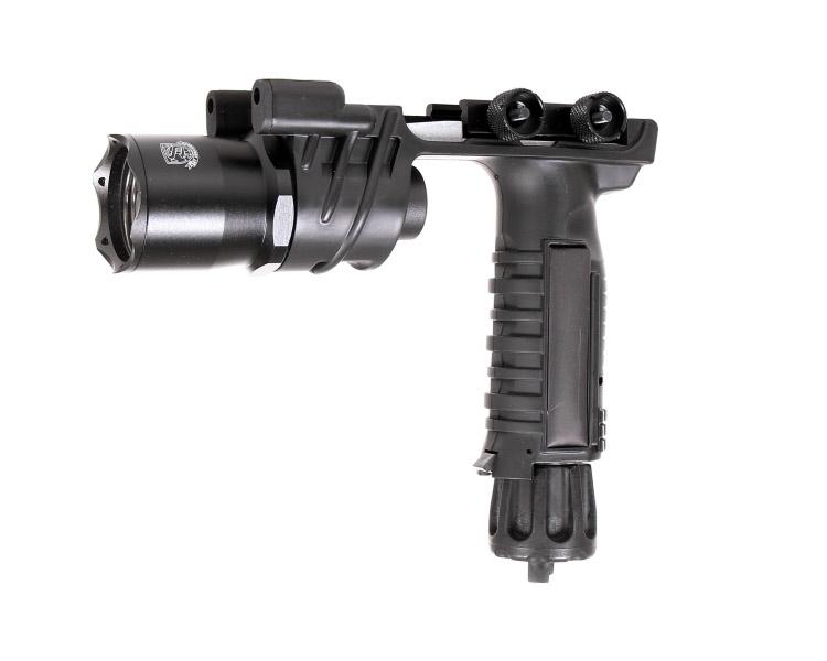 Armament Led Noire Lampe amp;t Tactique Verticale M910 Poignée Avec S fvgY67Ibym